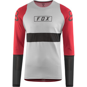 Fox Defend Fox LS Jersey Herren steel gray